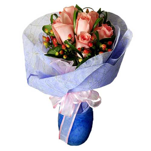 Cherished Pink Surprise with Smooth Petals