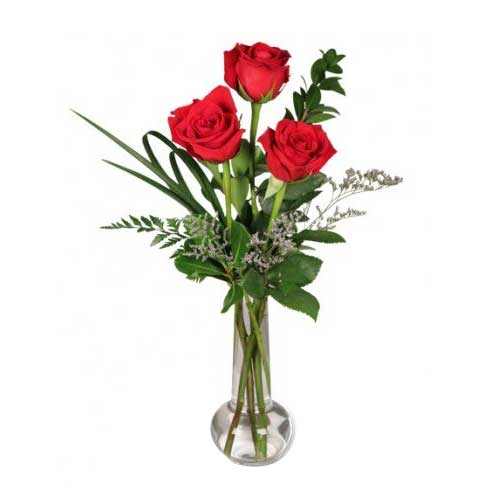 Pristine Sweet Seduction Roses Arrangement