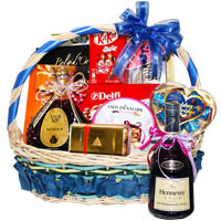 Bewitching Golden Food Hamper<br>