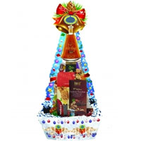 Innovative Spread The Cheers Holiday Gift Basket<br>