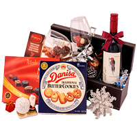 Beautiful Festive Greetings Gift Hamper<br>