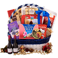 Adorable Spread to Share Festive Gift Basket<br>