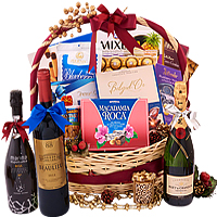 Dazzling Ultimate Celebration Gift Basket