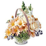 Basket of Cheer Flowers