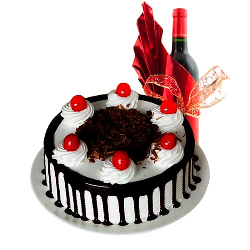 Irresistible Cake With Wine