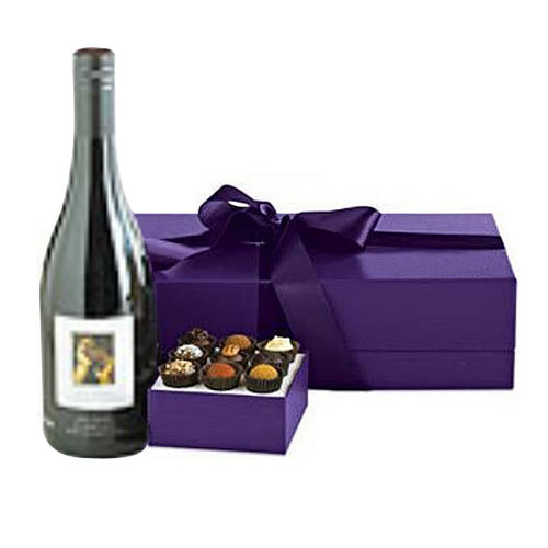 Delicious French Wine with Belgian Chocolates