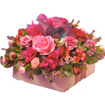Vibrant Views Flowers Basket